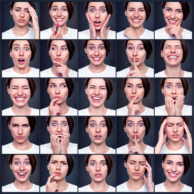 35 Facial Expressions That Convey Emotions Across Cultures