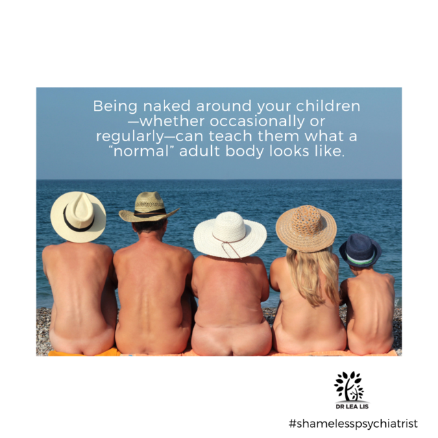Eight Things to Know About Nudity and Your Family