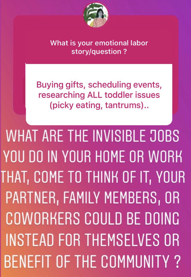 """Why Sharing """"Emotional Labor"""" is the Best Mother's Day Gift."""