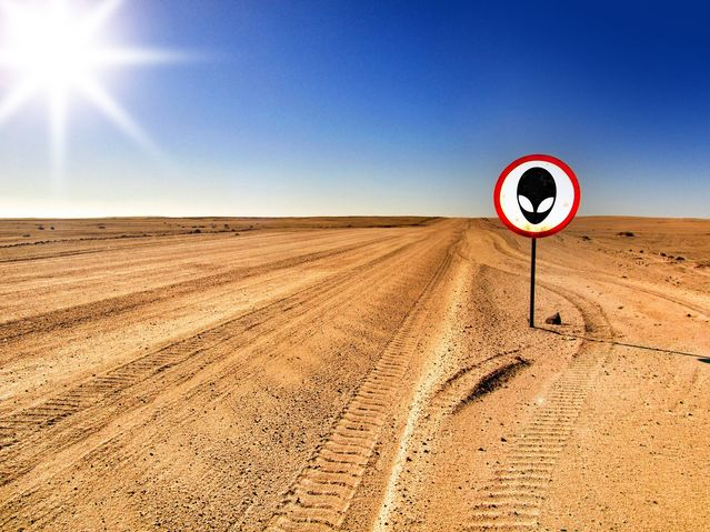 Evidence of Aliens in Area 51 Is Elusive
