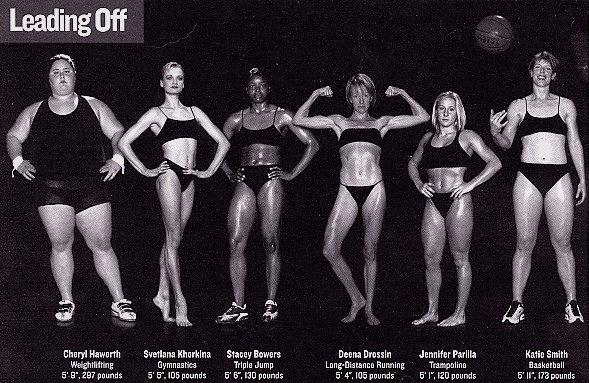 Athlete Body Comparison