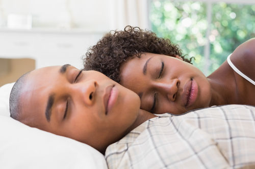 Sleeping together but not dating