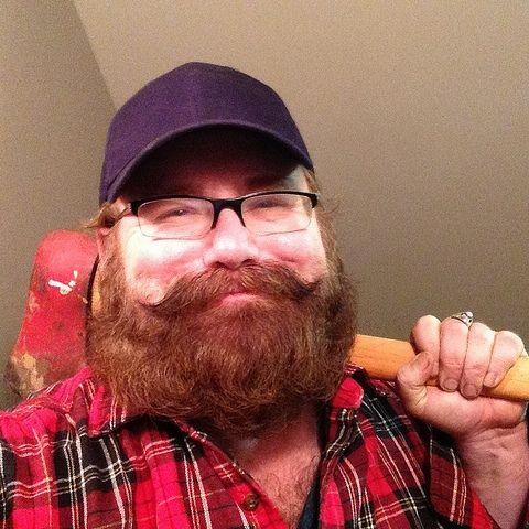 Women who love men with beards