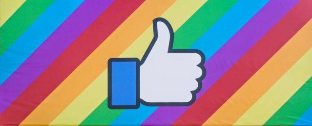 facebook rainbows