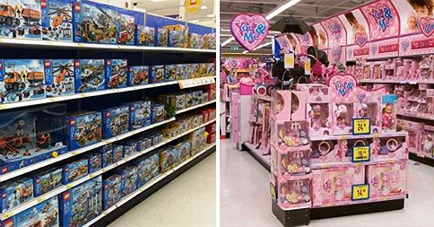 gender in the toy store The marketing of toys on the disney store website is important not only because  of  the gender marketing of toys: an analysis of color and type of toy on the.