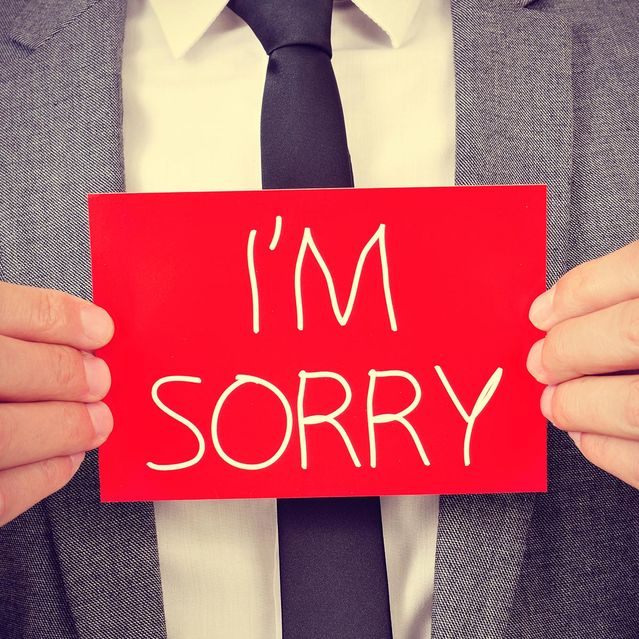 how to say sorry for being annoying