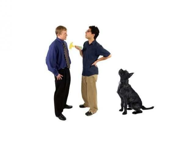 Can Dogs Learn Word Meanings by Just Watching and Listening?