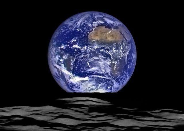 Courtesy of NASA/Goddard/Arizona State University