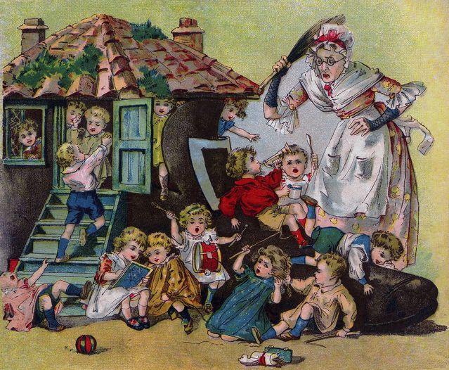 Classic Nursery Rhymes/Public Domain