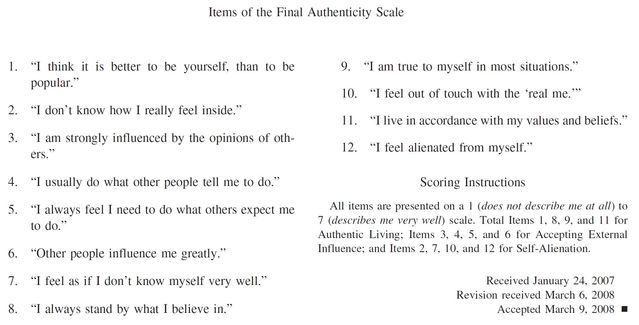 Sacrificing Authenticity on the Altar of Narcissism