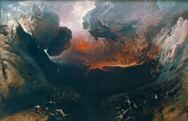 The Great Day of His Wrath, John Martin (1851)