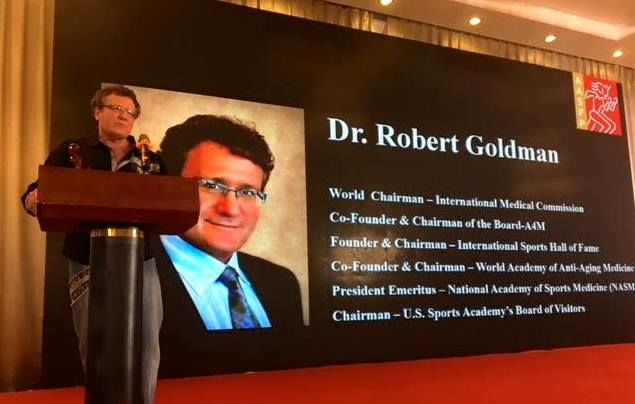 Dr. Robert Goldman - used with permission