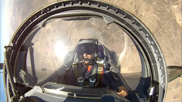 How Flying in a Fighter Jet Affected My Mind and Body