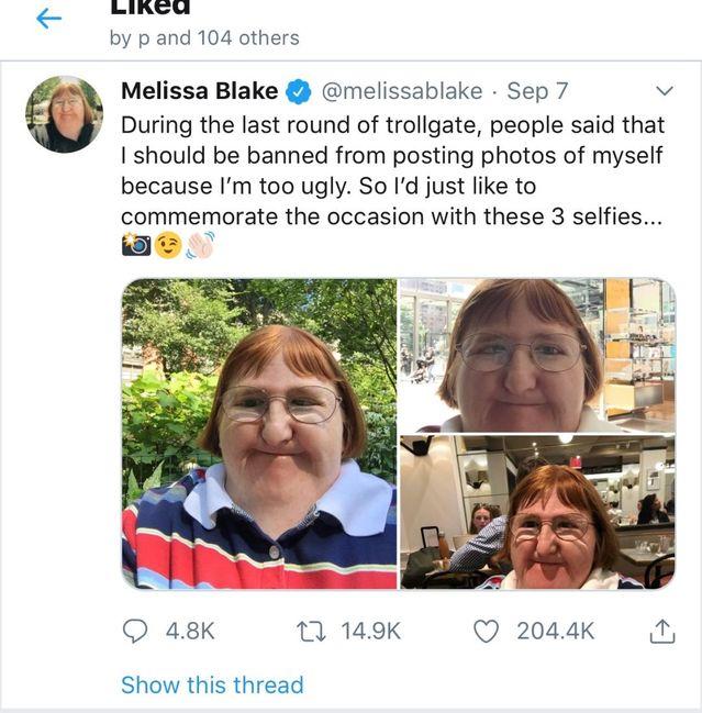 Melissa Blake/Twitter