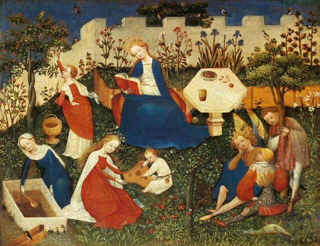Upper Rhenish Master, circa 1410-1420 AD / Public domain, via Wikimedia Commons