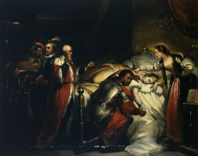 """""""Othello's Lamentation"""" by William Salter, from Wikimedia Commons / CC BY-SA 4.0"""