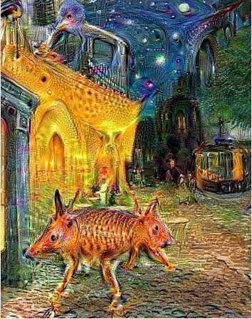 Vincent van Gogh/DeepDream Generator