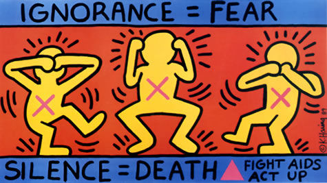 Courtesy of Keith Haring Foundation