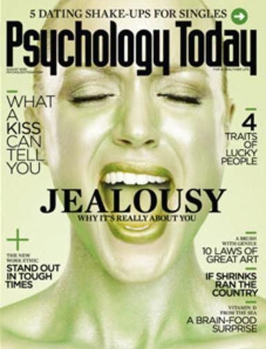 Jealousy: Love's Destroyer   Psychology Today