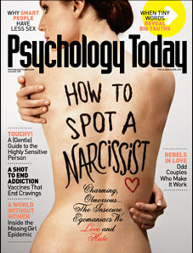 How to know if you were hookup a narcissist