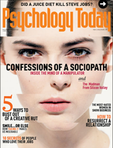 Confessions of a Sociopath | Psychology Today