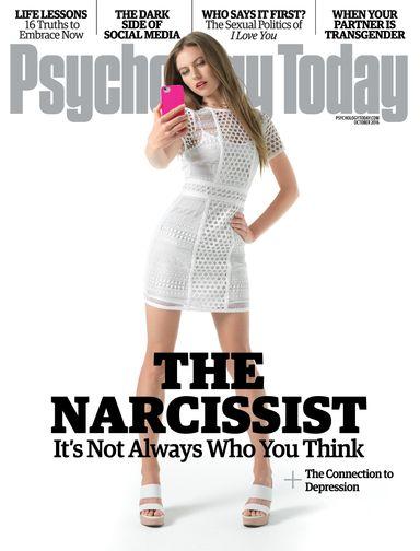Psychology today narcissism
