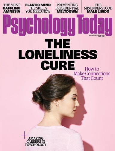 Psychology Today Magazine March 2018 ...