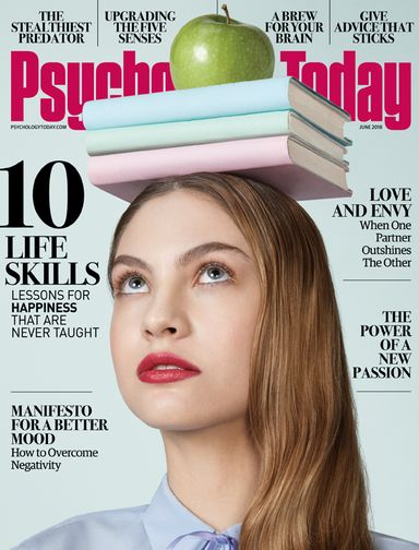 Psychology Today Magazine Cover May 2018