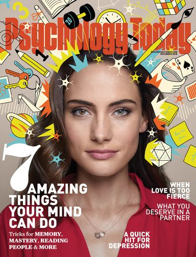 Psychology Today Magazine November 2018