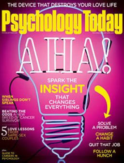 Image: Psychology Today March/April 2015 Issue Print Cover