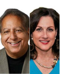 Sanjiv Chopra, MD and Gina Vild