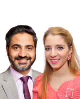 Manassa Hany, M.D., and Alla Prokhovnik-Raphique, Ph.D.