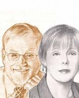 Larry Stybel and Maryanne Peabody