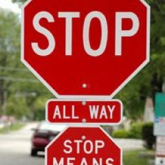 Anger is a Stop Sign