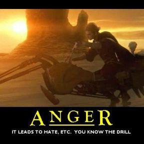 Anger makes the world seem more threatening