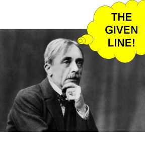 Writers, the Given Line and Not-Knowing