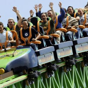 Sports Grief, Roller Coasters, and Sarah Palin