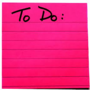 Things To Do Today: What's on Your List?