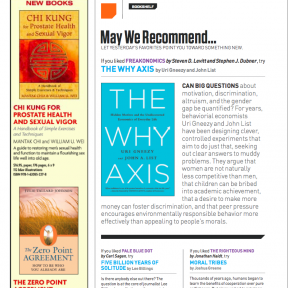 Psychology Today Recommended Reading