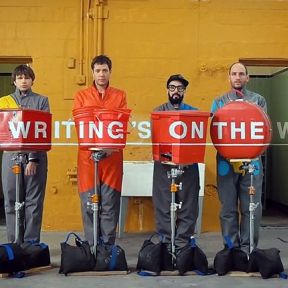 OK Go:  Is the Writing on the Wall?
