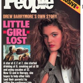 Hey, Addiction Experts - Drew Outgrew Drug Addiction (now for her love addiction)