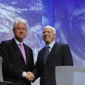 Why Does Bill Clinton Keep Saying Nice Things About John McCain?