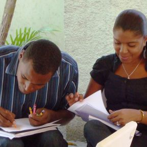 CMBM's Drawing Exercise Resonates in Haiti