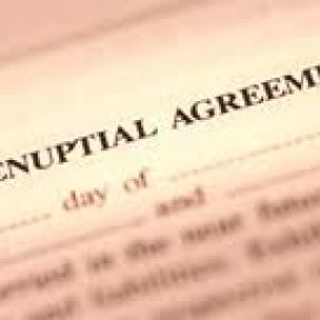 PRENUPTIAL Contracts: A Blight- or Just Bright?