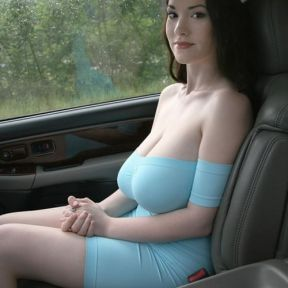 The Allure of a Female Hitchhiker's Breast Size (To Male Drivers)