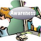 Awareness puzzle piece
