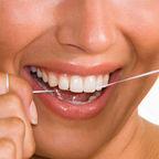 Flossing Teeth
