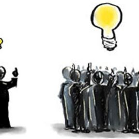 Visualizing the Wisdom of the Inner Crowd