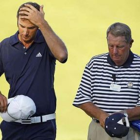 Vacation to a Sandy Beach = $600; Touching the Sand in a Major Golf Tournament = $600,000; Obscure Rules of Golf  = Priceless