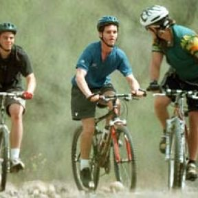 Mountain Biking with the Blind